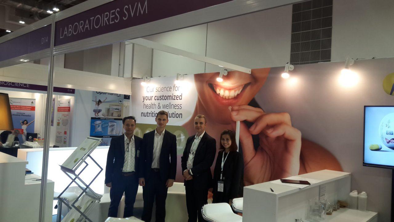 Laboratoires SVM - EUSTA - Vitafoods Asia 2017